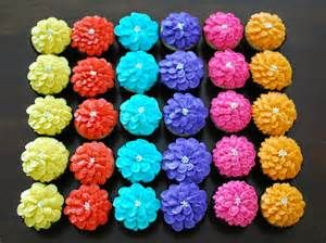 zinnia flower cupcakes - - Yahoo Image Search Results