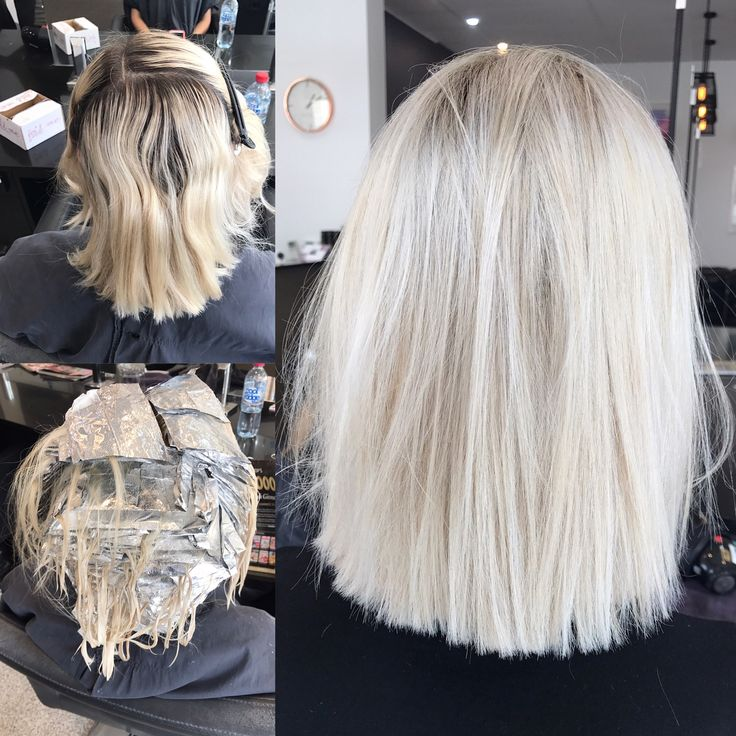 Cool Ash Blonde Hair 105