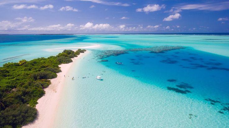 #blauw #eiland #helder #malediven #strand #tropisch #warm