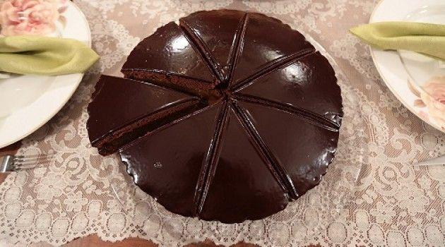 Nursel'in Mutfağı Çay Saati Menüsünden Çikolatalı Kayısılı Pasta Zaher Pasta Tarifi 08.02.2016
