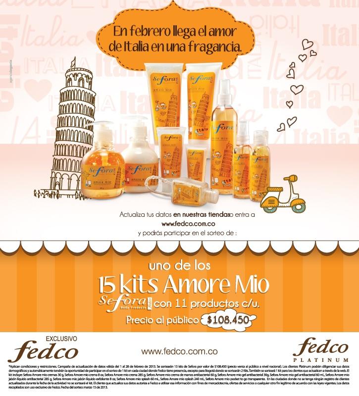 Marca propia de Fedco, cuidado de la piel en general con una gran variedad de olores, colores y formas.