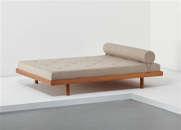CHARLOTTE PERRIAND, Double bed, from Cité Internationale Universitaire de Paris