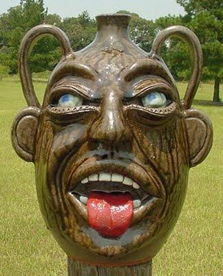 AAW 3D ART: Ugly Jugs, Face Jugs, Face Pots