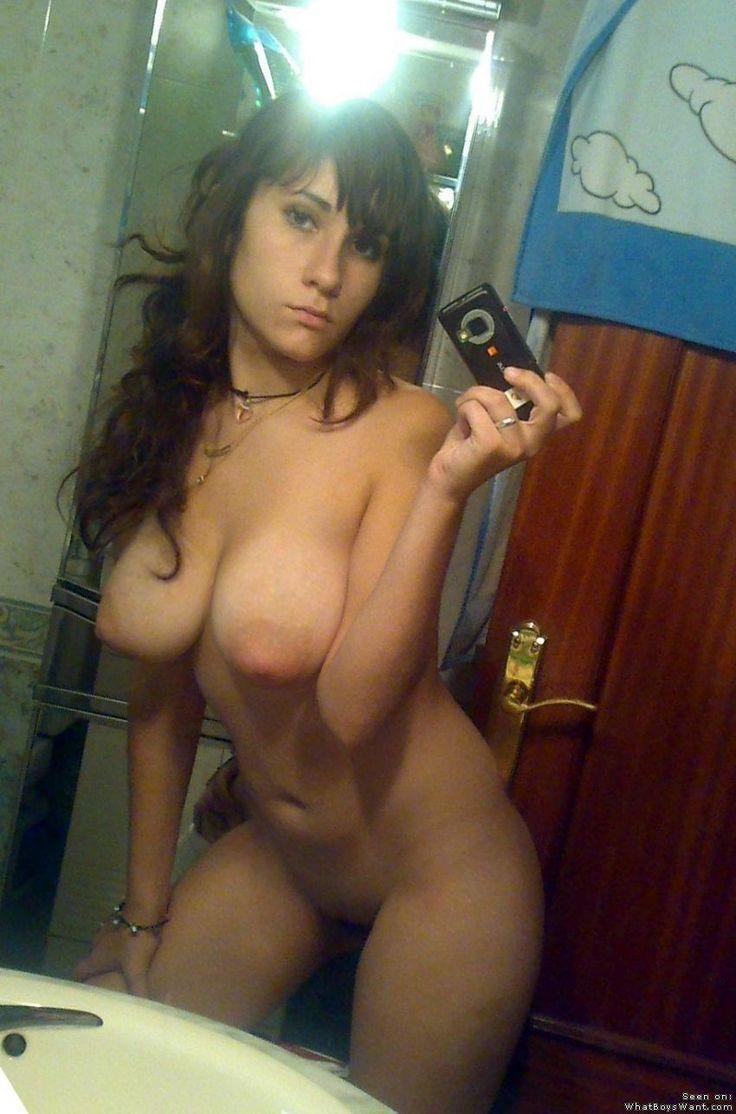 big tits selfie