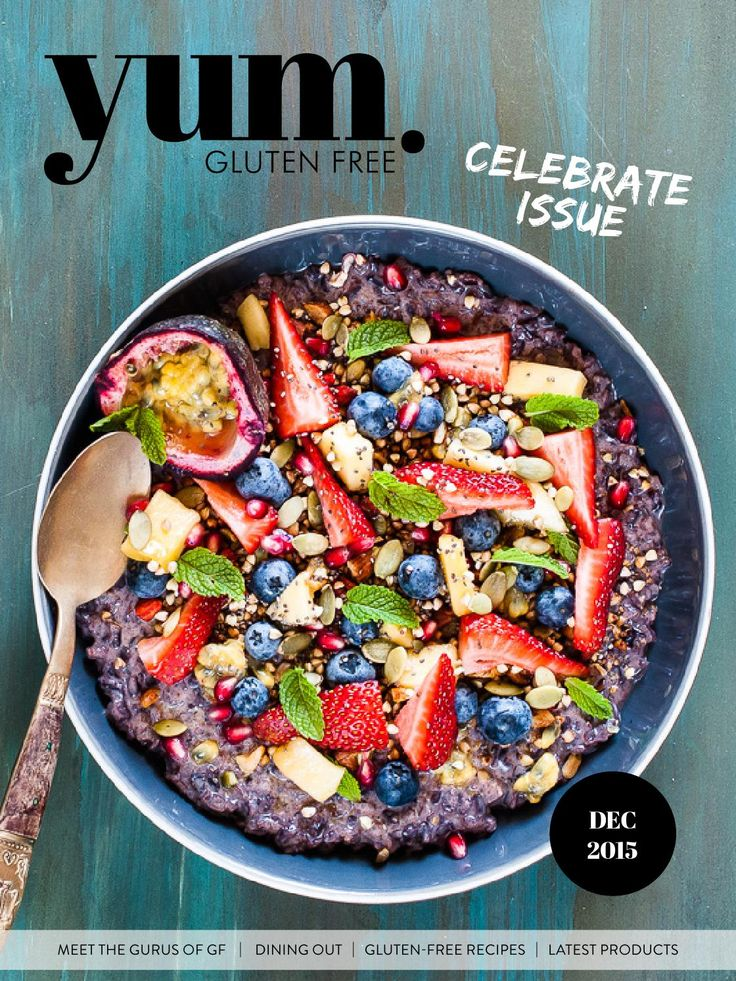 The last edition for 2015 is here! The December edition of yum. Gluten Free is jam packed with feature stories and delicious gluten free recipes from amazing contributors to help you celebrate the festive season. This edition is sure to get your tastebuds going. Yummy.