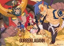 Tengen Toppa Gurren-Lagann   anime com 27 epsodios    http://simplesmentegi.tumblr.com/post/19877069090/tengen-toppa-gurren-lagann-mecha    http://myanimelist.net/profile/Giiihhh