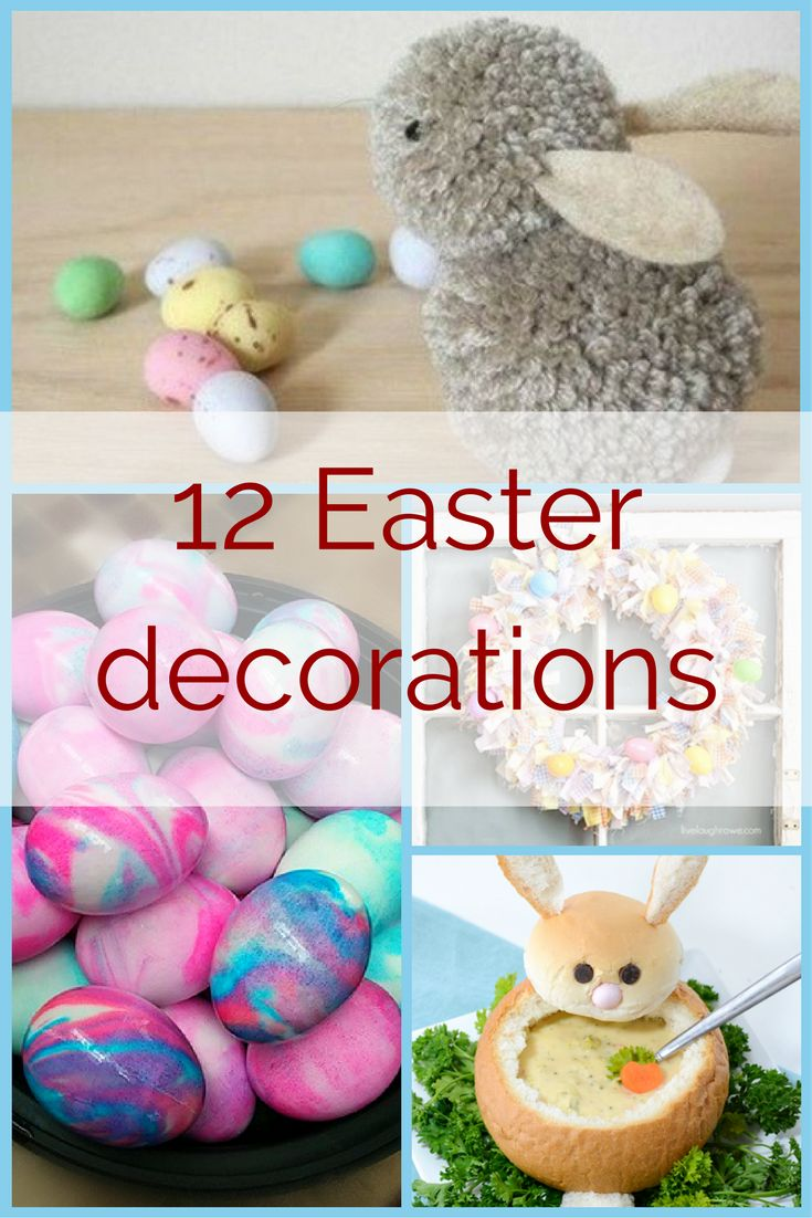 Making Easter decorations 12 toppers for kids, adults and your taste buds - collekecreation.com