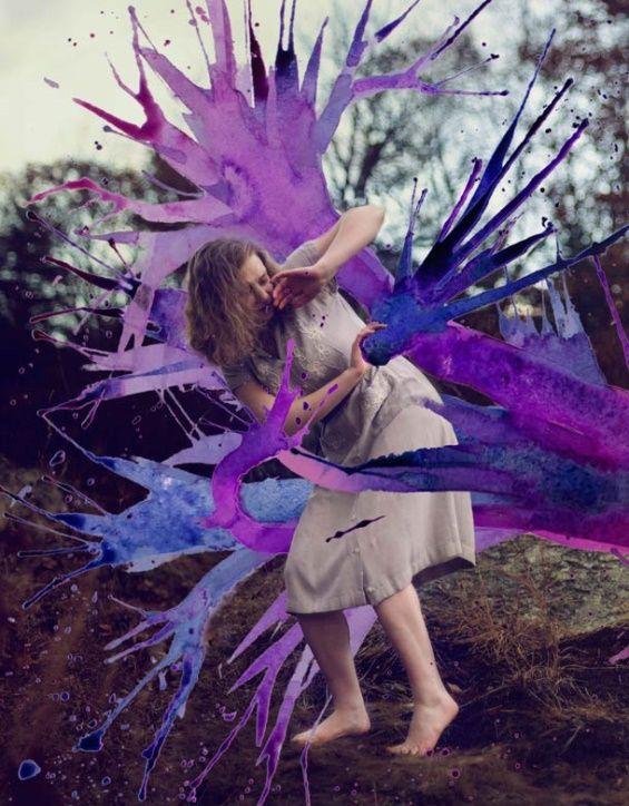 Aliza Razell's Mythological and Emotional Watercolored Photography