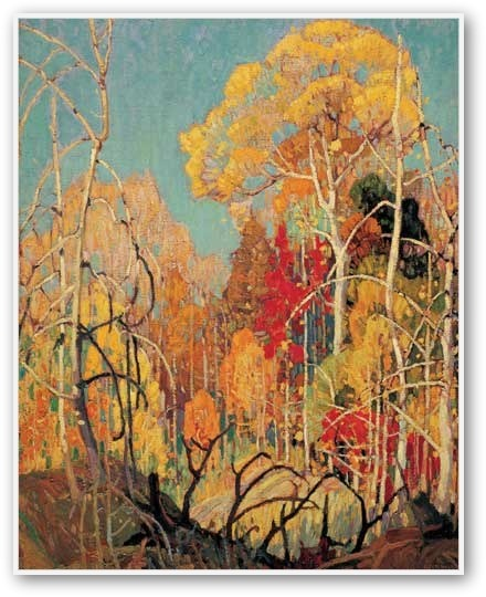Franklin Carmichael Autumn In Orillia