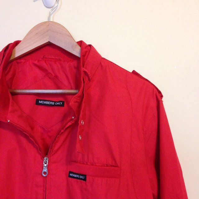 464f60774 Listed on Depop by phlvintage | Vintage Clothing | Red bomber jacket ...