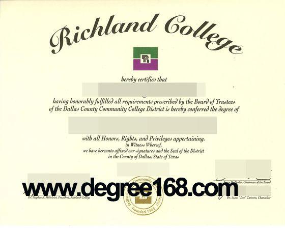 Buy University Diploma Online From Richland College. Buy fake diploma, buy fake degree, buy master degree, buy university transcript, buy diploma  from @degree168.com  QQ: 3438938163 Skype: flora.dai49 Email: alisa5258@yahoo.com