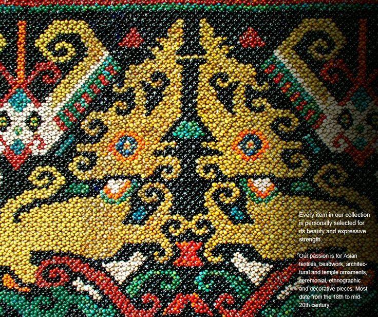 beadwork of Borneo - Google Search