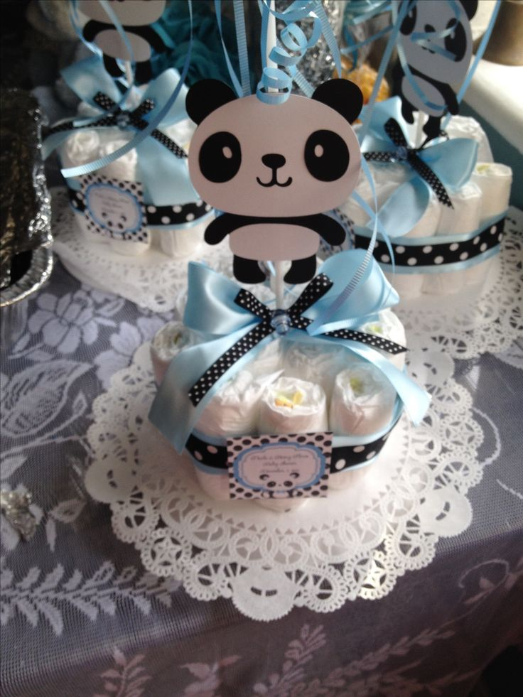 baby showers baby shower panda bears center pieces panda party baby