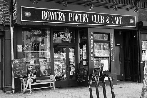 Bowery Poetry Club  East Village NY
