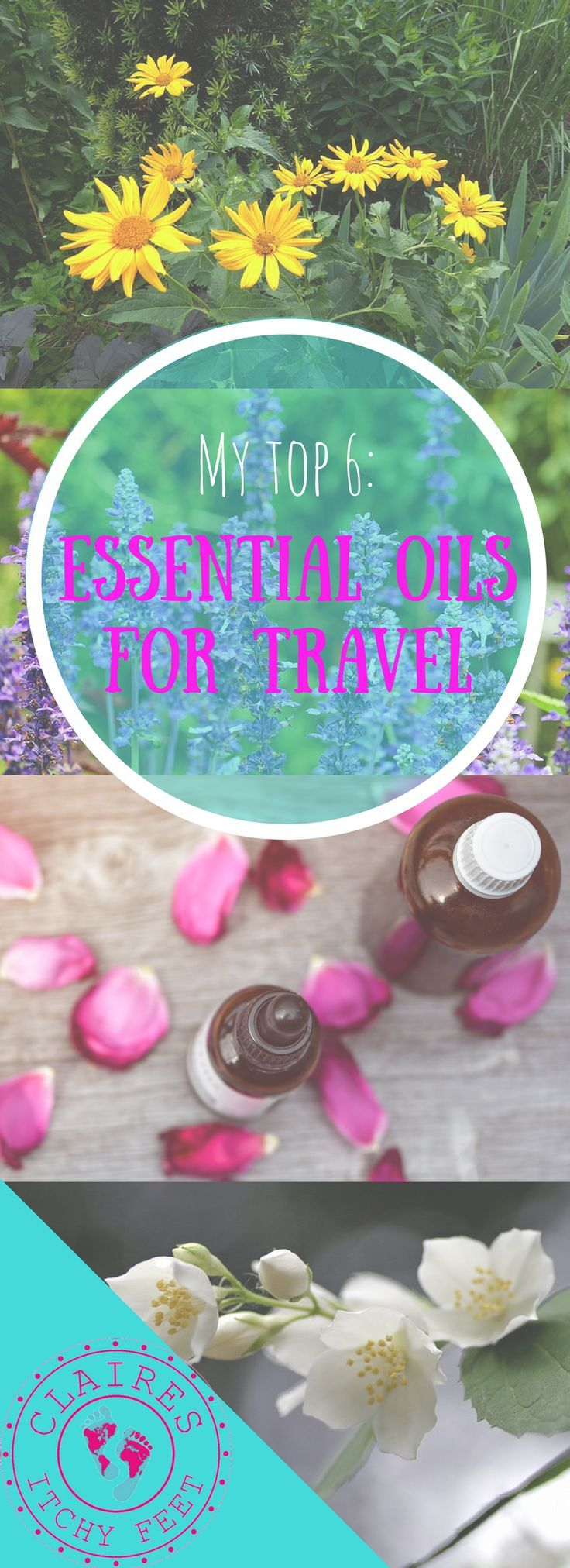 There are a few things that keep me sane while traveling. One of them is my collection of essential oils! Whether you are taking a weekend break or are long-term backpacking. There are a few must-have essential oils you should make sure you pack.