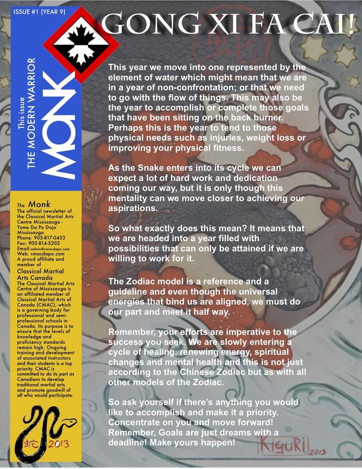 The Modern Warrior Monk Vol 4 Issue 1 2013