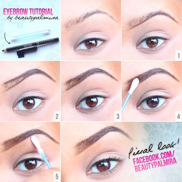 Beauty Palmira: Augenbrauen Bilder-Tutorial