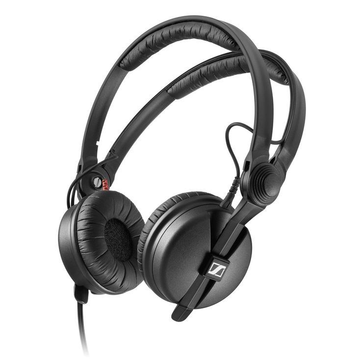 Sennheiser: HD25 Plus - DJ / Studio Headphones (2 Sets of Cables, 2 Sets of Earpads, Storage Pouch)