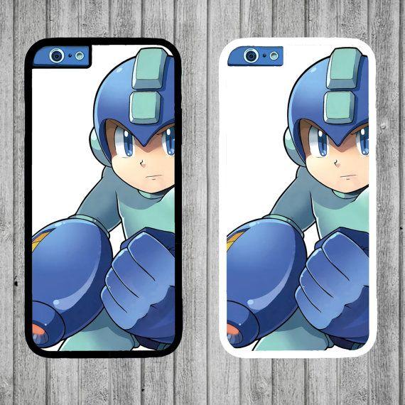 Mega Man Case  iPhone 4/4s 5C 6/6 plus by FreshAFstudios on Etsy