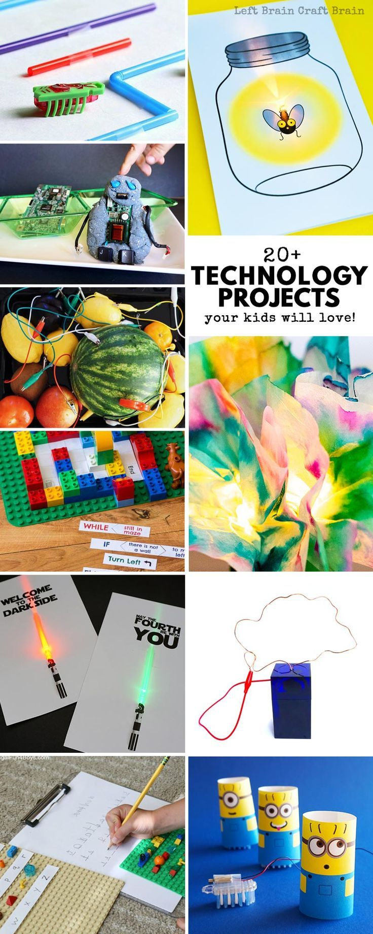 Your STEAM kids are going to love these technology projects for kids! These fun ... 2