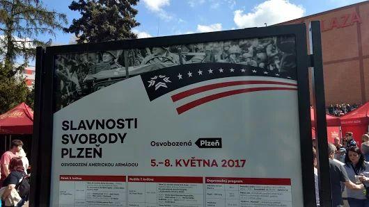 Slavnosti svobody navštívilo 90 tisíc lidí, o 40 tisíc více než loni  http://plzen.cz/slavnosti-svobody-navstivilo-90-tisic-lidi-o-40-tisic-vice-nez-loni/