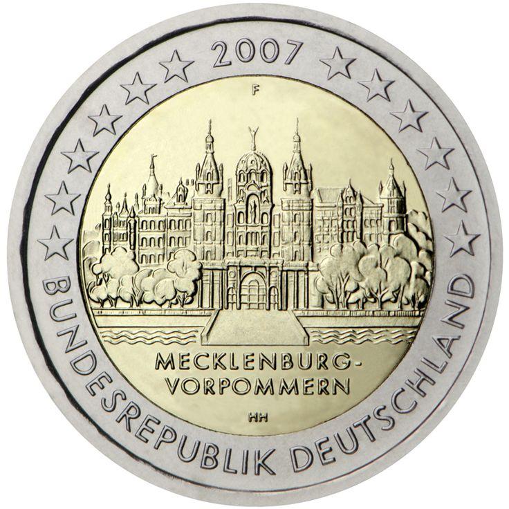 Alemania 2 euros conmemorativos (Especial) 2007 (5 cecas)