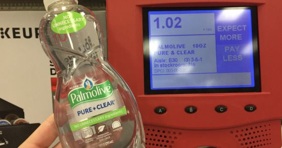 Print a new coupon for Palmolive and score great deals at Target!