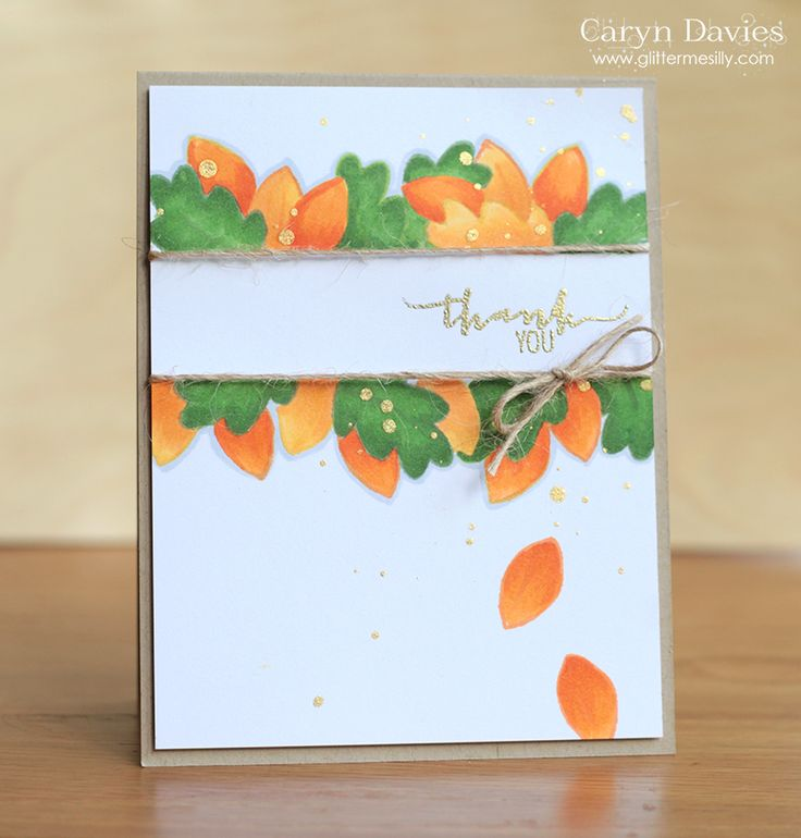 Card features a set called Fabulous Florals by  Avery Elle.