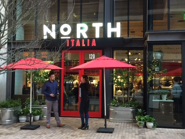 I first wrote about this restaurant 6 years ago...they've expanded and definitely deserve another 'Foodie' shout-out. NORTH ITALIA
