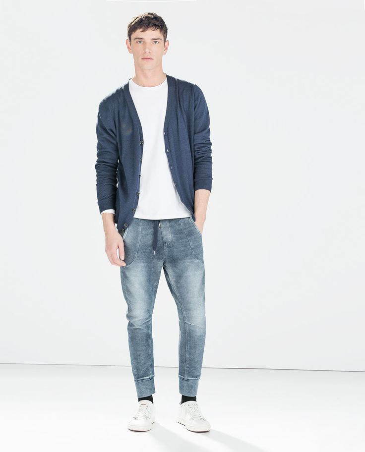 Image 1 of TERRYCLOTH JOGGING PANTS from Zara