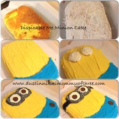 1000 Ideas About Minion Cake Decorations On Pinterest