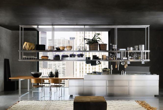 cuisine-meuble-element-hauteur-suspendu-Arclinea-convivium