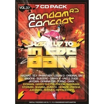 Digitally recorded live at Random Concept - Warm Up To In The Dam @ Roadmender, Northampton on 3rd November 2012 and featuring DJs: Hazard, Sly, Phantasy, Logan D, Original Sin, Brockie, Subzero, Garry K, Uncle Dugs, Jaydan, Dominator, Turno and Darx plus MCs: Eksman, Harry Shotta, Trigga, Bassman, Stormin, Shabba, Funsta, Herbzie, Presha, Juiceman, Rhymes and Rippadeeripz. was £20.99 £15.83 (£18.99 inc VAT)