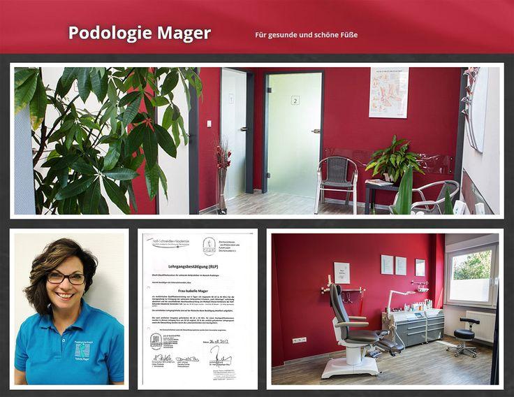 Podologie Mager in Göllheim - med. Fußpflege, Nagelpilzbehandlung, Sektorale Heilpraktikerin, Kirchheimbolanden