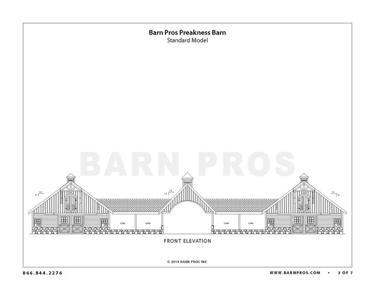 The Preakness - Barn Pros