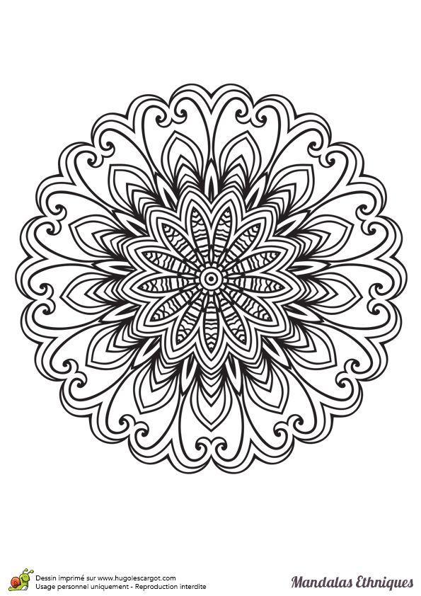 1370 best images about mandala spiritual colouring on - Hugo l escargot mandala ...