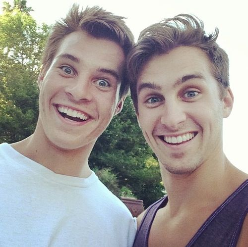 Marcus and Cody Johns. Funniest brothers ever to live tbh