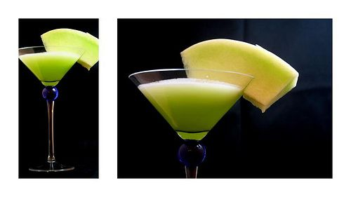 honeydew melon martini | Drinks | Pinterest