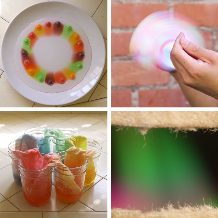 4 Kid Friendly Rainbow Science Projects