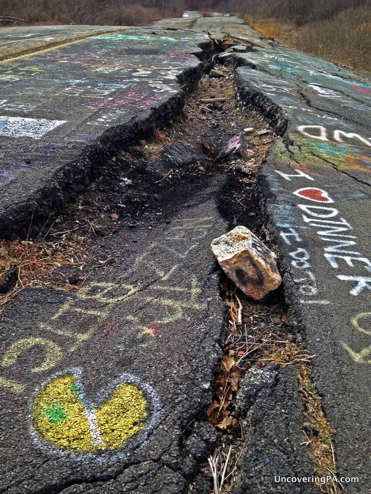 Find out what's left to see and do in Centralia, #Pennsylvania - http://uncoveringpa.com/visiting-centralia  #Centralia #ghosttown
