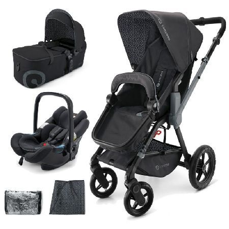 Concord Wanderer 3in1 Mobility Set-Raven Black PACKAGE INCLUDES: Concord Wanderer Stroller Concord Scout Folding Carrycot Concord Air Safe Car Seat Concord Suncover Concord Raincover CONCORD Wanderer STROLLER: The Concord Wanderer all-rounder bugg http://www.MightGet.com/march-2017-1/concord-wanderer-3in1-mobility-set-raven-black.asp
