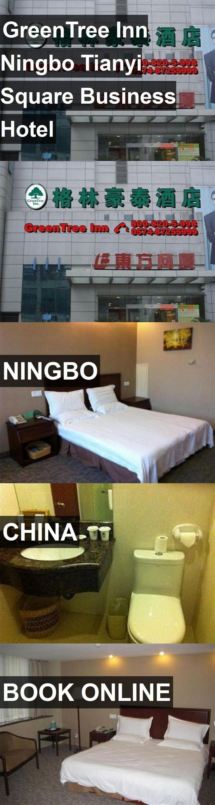 Hotel GreenTree Inn Ningbo Tianyi Square Business Hotel in Ningbo, China. For more information, photos, reviews and best prices please follow the link. #China #Ningbo #GreenTreeInnNingboTianyiSquareBusinessHotel #hotel #travel #vacation