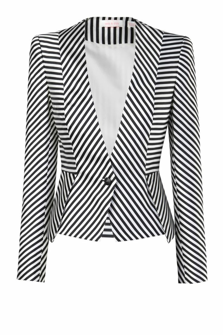 jazz up a black outfit with this one of a kind blazer. sass and bide. corporate fashion. CORMONY.