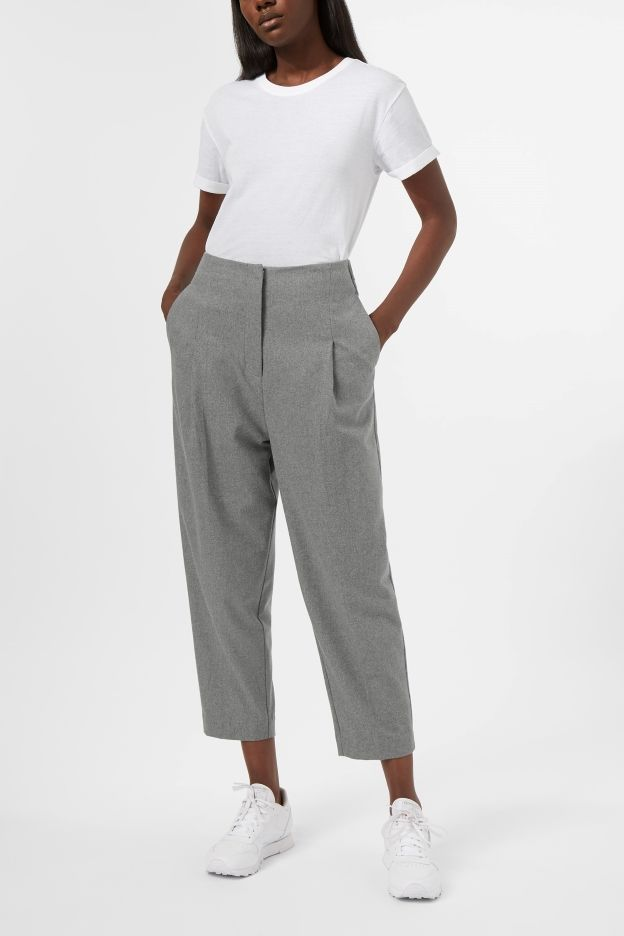 Weekday image 2 of Ritz Wool Trousers in Grey