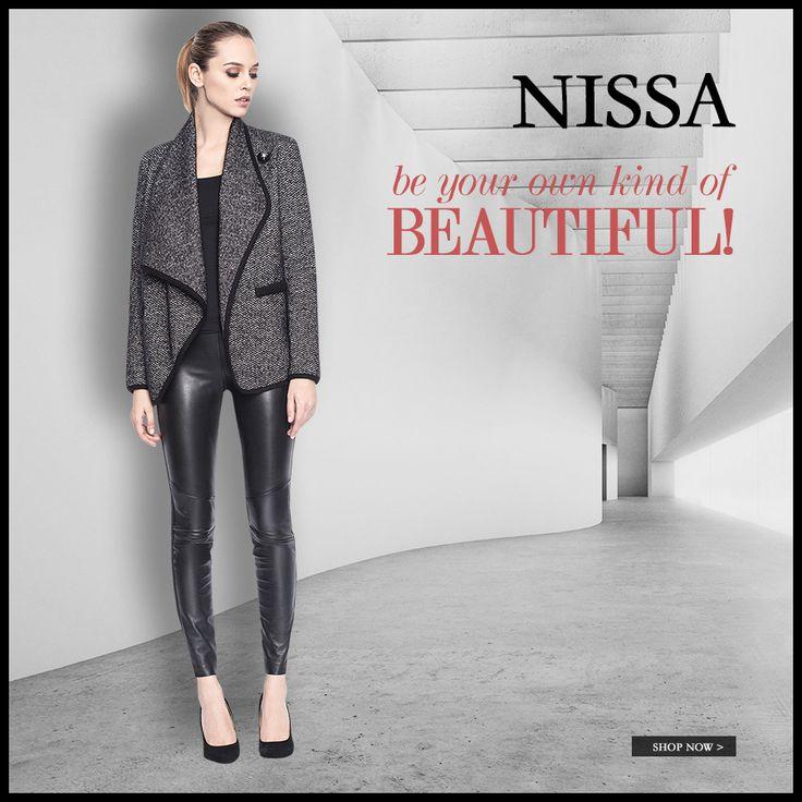 www.nissa.com  #nissa #beautiful #outfit #leather #piele #style #fashion #fashionista #jacket