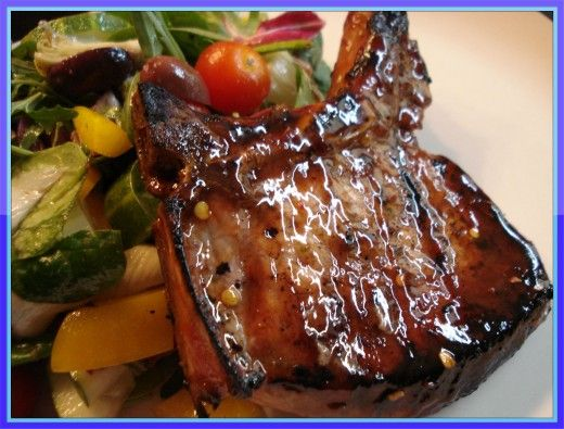 These Glazed Grilled Pork Chops Are One Of My Favorites