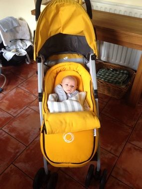 Joie Nitro Stroller - Yellow Stripe - buggies & strollers - Mothercare