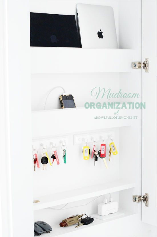 Do It Yourself Clever Charging Stations | Decorating Your Small Space