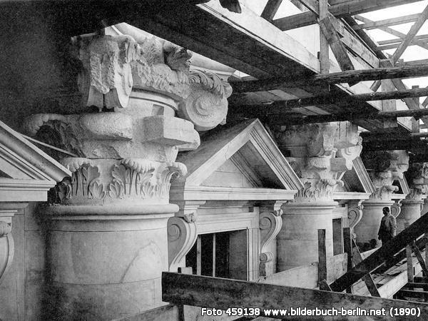 SteinmetzarbeitenamReichstag, Platz der Republik, 10557 Berlin - Tiergarten (1890)