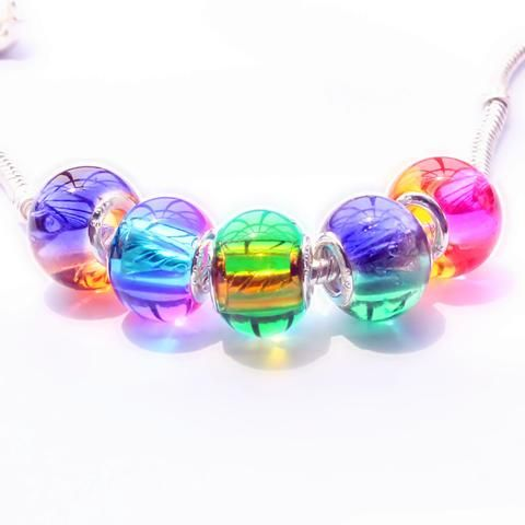 5pc Murano Glass Beads fit Pandora style charms bracelets Click Picture to Purchase https://liftingtheworld.com/collections/charms/murano-glass